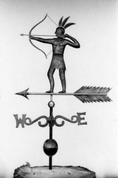 Nipmunk Indian Weathervane