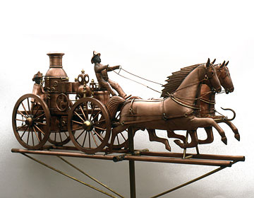 Fire Engine Weathervane