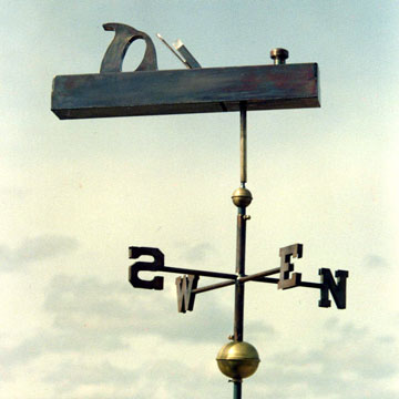Blockplane Weathervane