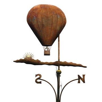 Balloon In The Clouds Weathervane