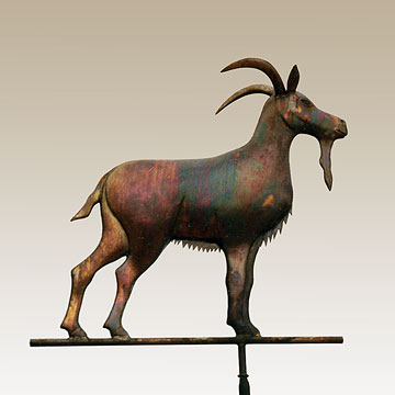 Billy Goat Weathervane