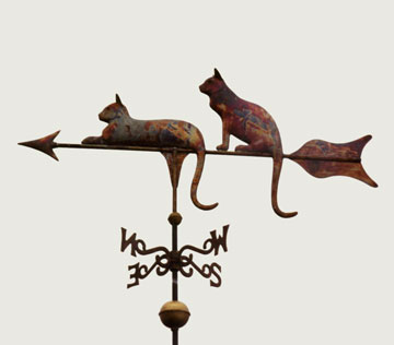 Cats Weathervane