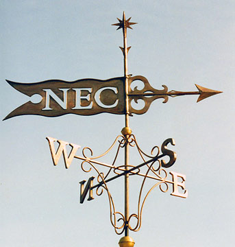 New England College Commision Weathervane