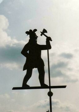 Folk Art Indian Weathervane