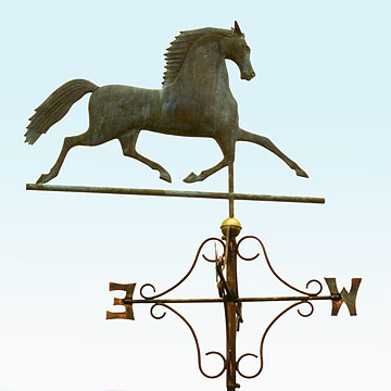 Black Hawk Weathervane