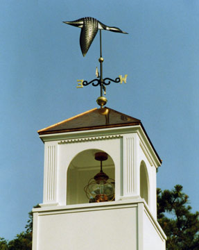 Painted Loon Weathervane
