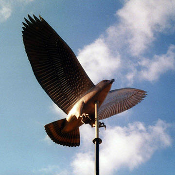 Red Tail Hawk Weathervane