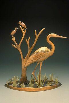 Heron Marsh Scene
