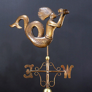 Sea Goddess Weathervane