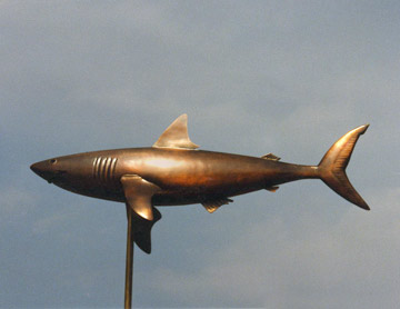 Shark Weathervane