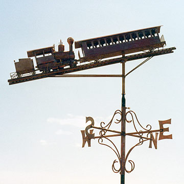 Cog Railway Weathervane