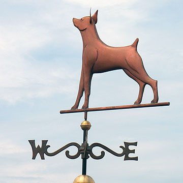 Mini Pinscher Weathervane