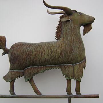 Goat Weathervane