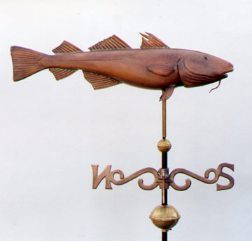 Codfish Weathervane