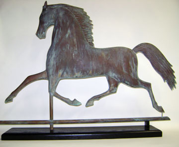 Blackhawk Sculpture Weathervane