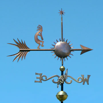 Kokapelli Weathervane
