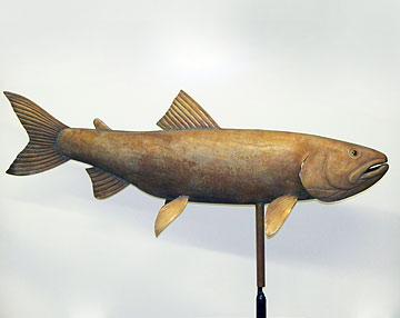 Lake Trout Weathervane