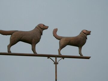 Buddys Copper Weathervane