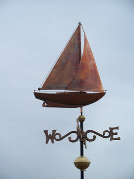 Sloop-sailboat Weathervane