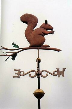 Squirrel Vane Weathervane