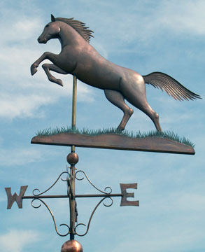 The Stallion Weathervane