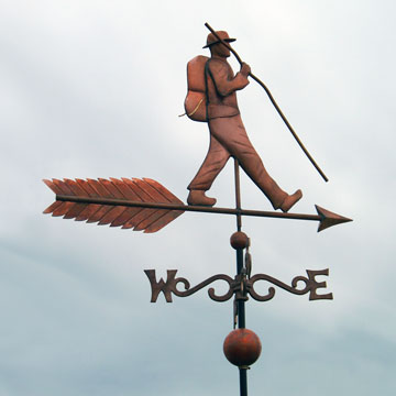 Custom Hiker Weathervane