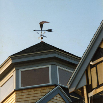 Torch Weathervane