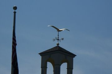 Seagull Weathervane Seabrook,N.H.town Hall