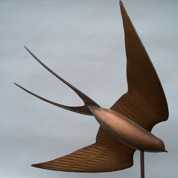 The Swooping Swallow Weathervane