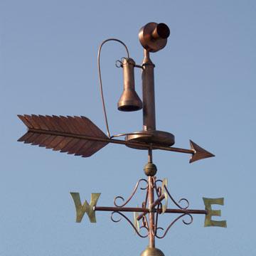 Telephone Weathervane