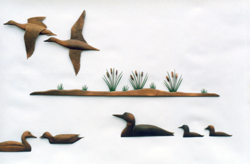 Example,of Custom Wall Sculpture