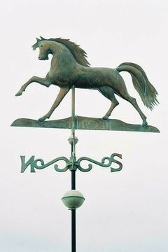 Blue Sky Weathervane