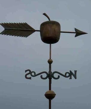 Apple Rare Design Weathervane