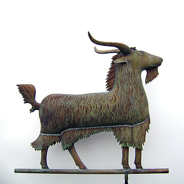 Antique Style Goat Weathervane