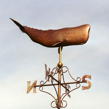 Sperm Whale Weathervane
